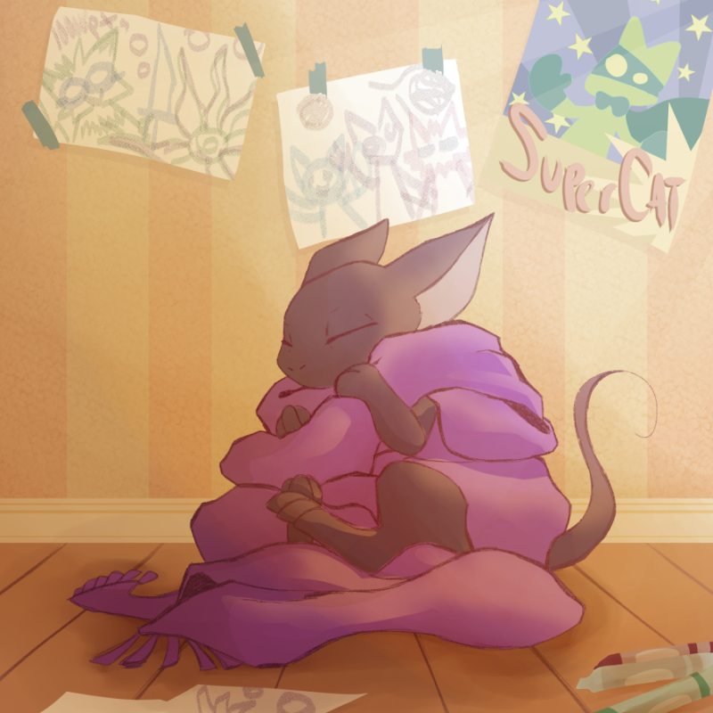 Guest Comic 1- Comfy Ghost (By Illus)
